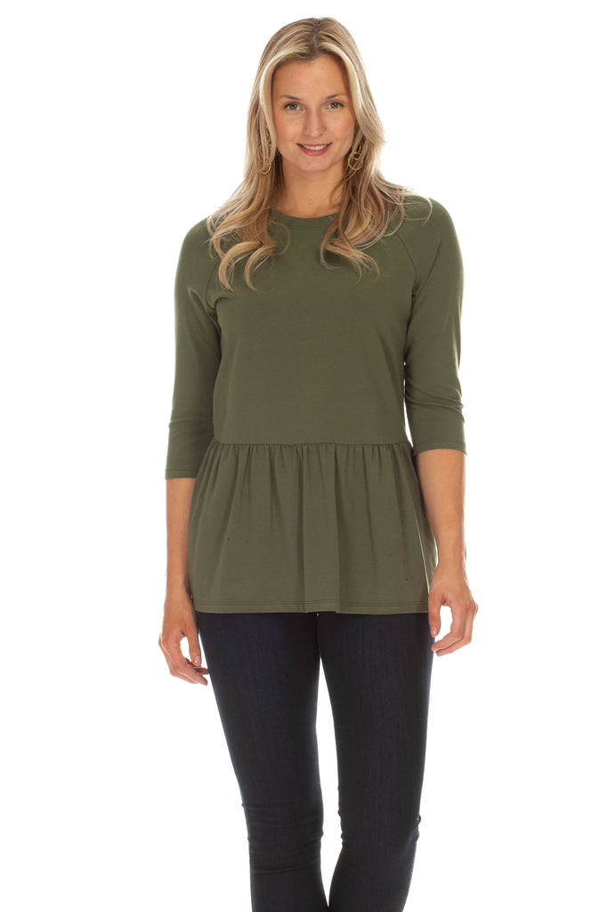 Chadwick Top in Olive