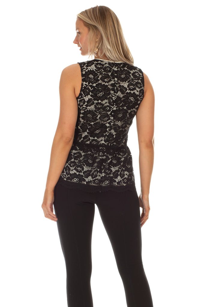 Lily Peplum Top
