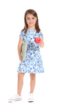 Girls Amber Dress in Watercolor
