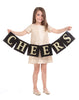 Girls Potter Dress in Gold Sequin