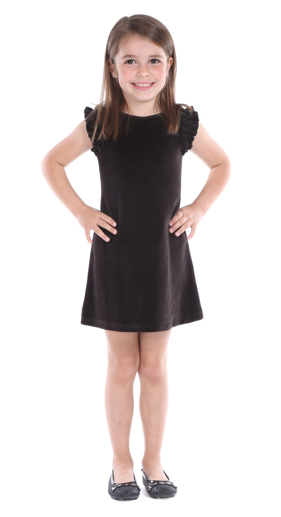 Girls Velvet Monroe Dress