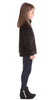 Girls Brandy Pullover in Velvet