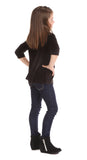 Girls Velvet Rockford Ruffle Tunic