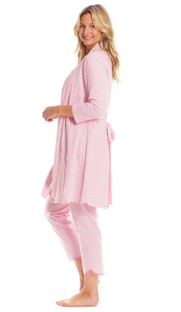 Barron Robe in Pink