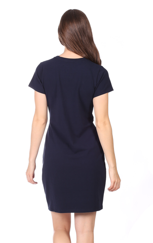 Jess Dress in Navy