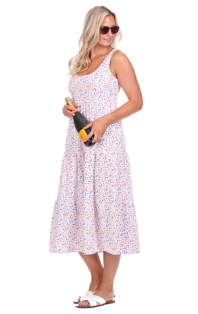 Lucy Dress in Splatter Print