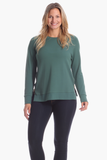Meghan Pullover in Evergreen