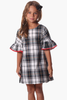 Girls Rosalie Dress in Plaid