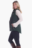 Sumner Vest in Evergreen