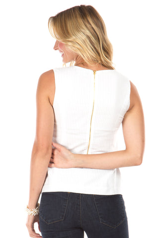 Ellis Top in White