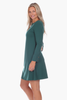 Davis Dress in Evergreen