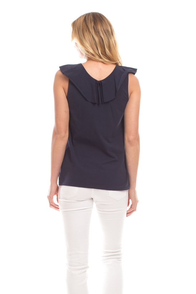 Reese Top in Navy