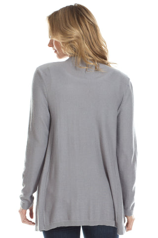 Ashley Cashmere Blend Sweater in Grey
