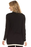 Ada Cashmere Blend Sweater in Black