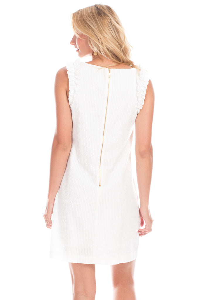 Monroe Dress in White