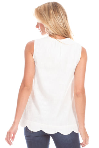 Harper Top in White