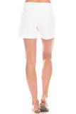 Saginaw Shorts in White