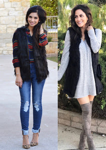 Faux Fur Love! #fauxfurvest