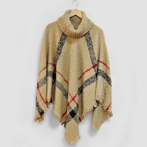 Poncho Season is in Full Effect #poncho #plaidponcho #sweaterweather