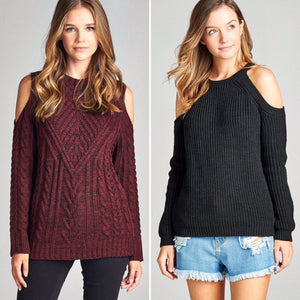 Sweater Obsessed: Trendy accent sweaters #sweaterweather #winterstyle