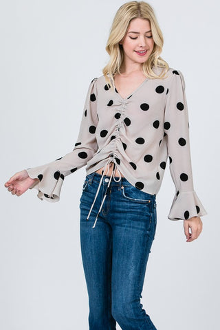 Dotted Bell Top