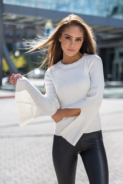 Open Bell Sweater