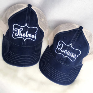 Thelma and Louise hat set