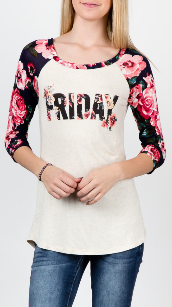 Floral Friday Top