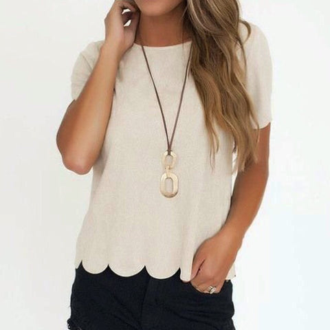 Taupe suede top