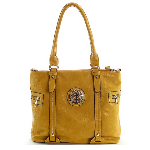 Mustard Yellow Shoulder Handbag