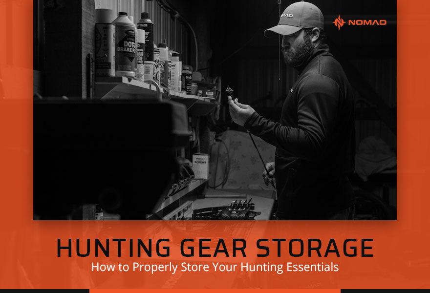 Hunting Gear Storage How to Properly Store Your Hunting Essentials