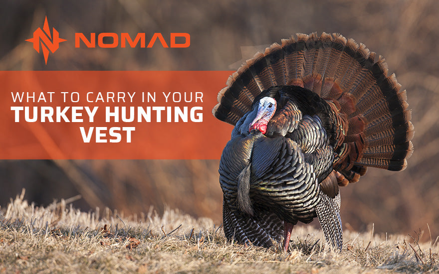 What to Carry in Your Turkey Hunting Vest