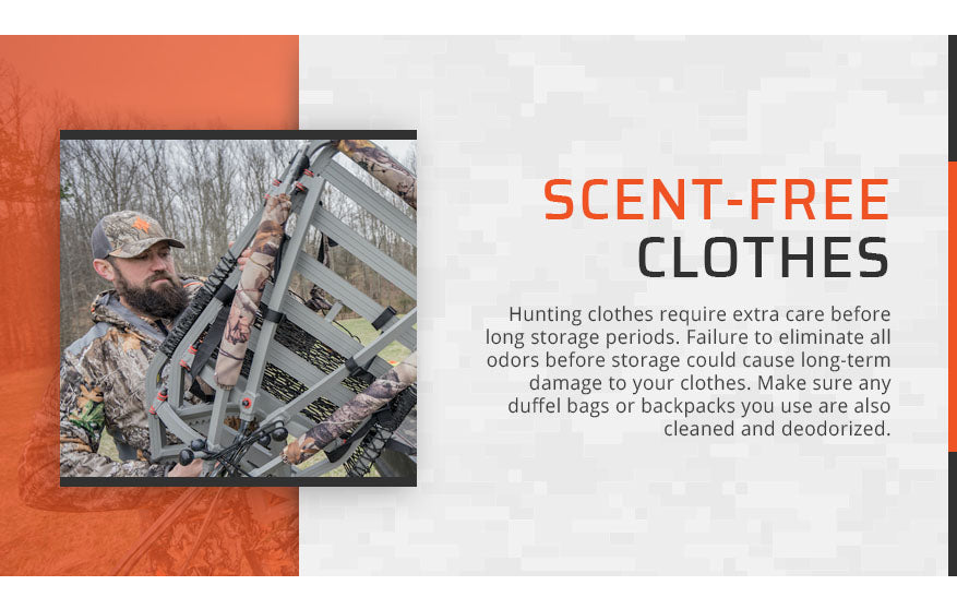 scent free clothes storage