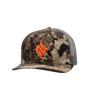 Nomad Elevated Whitetail Camo Trucker Cap