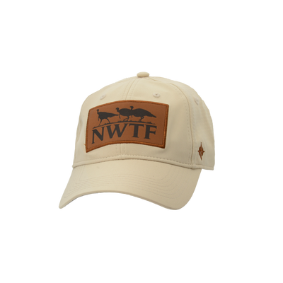 Nomad NWTF Leather Patch Low Country Cap