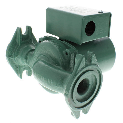 Taco 0015-MSF3-1IFC   0015 3-Speed Cast Iron Radiant Circulator Pump - Integral Flow Check, 1/20 HP w/ Rotated Flanges
