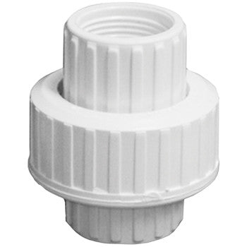 "Webstone 4832   1/2"" IPS PVC UNION WHITE"