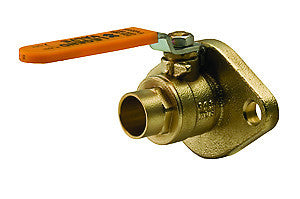 "Legend 101-095   1"" Sweat X Flange S-1002Flg Isolation Ball Valve, Flanged"