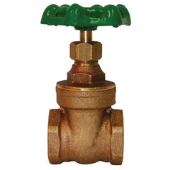 "Webstone 10105   1-1/4"" IPS HEAVY PATTERN BRONZE GATE VALVE HARD SEAT"