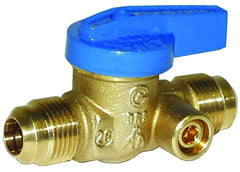 "LEGEND 102-522   3/8"" FLARE x 3/8"" FLARE T-3100 GAS BALL VALVE, SIDETAP"