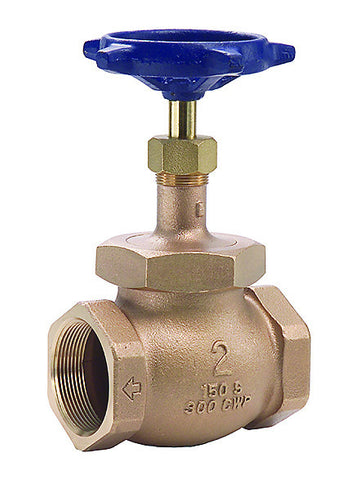 "Legend 103-117 Bronze  1-1/2"" Fnpt X Fnpt T-422 Ips Union Bonnet Globe Valve"
