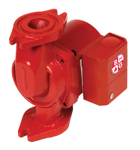 Bell & Gossett 103267 Cast Iron NRF-9F/LW Red Fox, Wet Rotor, Single Speed Circulator