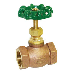 "Webstone 10404   1"" IPS BRASS GLOBE VALVE HARD SEAT"