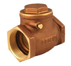 "Legend 105-104 Brass  3/4"" Fnpt X Fnpt T-451 Brass Swing Check Valve"