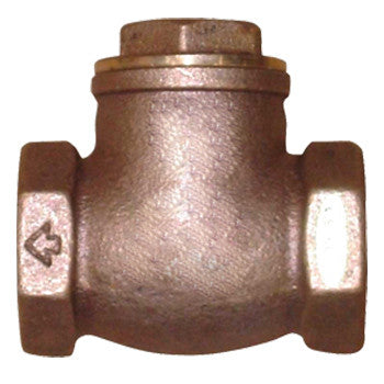 "Webstone 10505   1-1/4"" IPS B62 BRONZE SWING CHECK VALVE HARD SEAT"