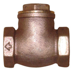 "Webstone 10506   1-1/2"" IPS B62 BRONZE SWING CHECK VALVE HARD SEAT"
