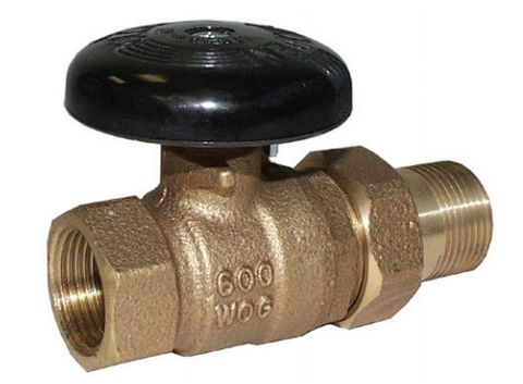 "Legend 110-217   1/2"" Sweat X Sweat S-425 Straight Circulator Valve"