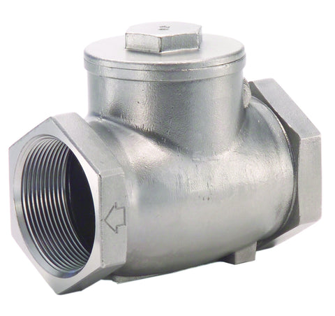 "Legend 113-438   2"" Fnpt X Fnpt T-750 Stainless Steel Check Valve"