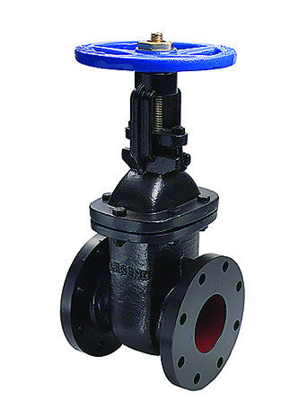 "Legend 116-125   5"" Flanged T-303 Os & Y Cast Iron Gate Valve"