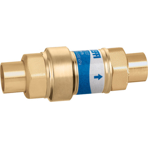 "Caleffi 127349AF 5G0 Brass Model 127 FlowCal Low-lead Compact Dynamic Balancing Valve 5.0 gal 1/2"" SWT"